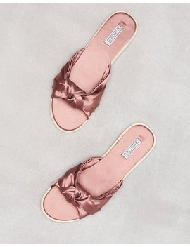 Twist Knot Sandal by Nly Shoes