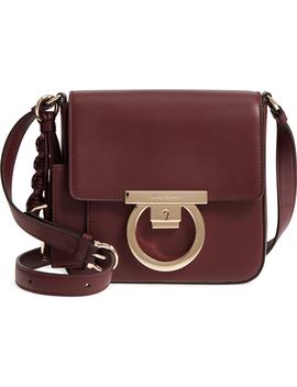 Lock Flap Leather Crossbody Bag by Salvatore Ferragamo