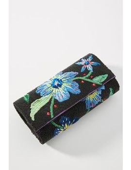 Late Nights Floral Clutch by Anthropologie