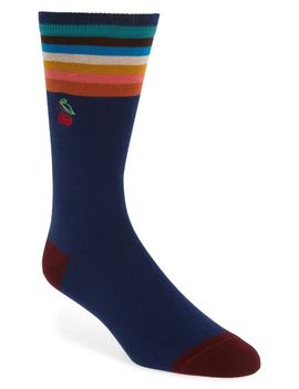 Embroidered Jacquard Socks by Paul Smith