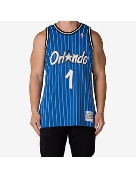 Mitchell & Ness Orlando Magic Penny Hardaway #1 Swingman Jersey Blue/White by Mitchell And Ness