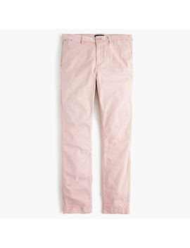Tall High Rise Slim Boy Chino Pant by J.Crew