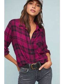 Cloth & Stone Plaid Buttondown by Cloth & Stone