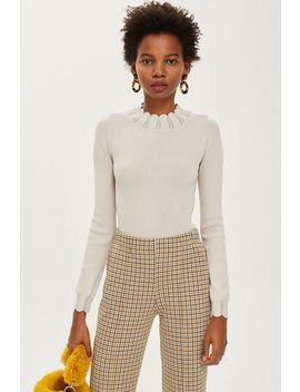 Pretty Long Sleeve Top by Topshop