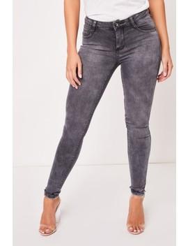 Penelope Grey Skinny Jeans by Misspap