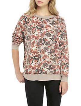 Go On Get Floral Pullover Sweater by Free People