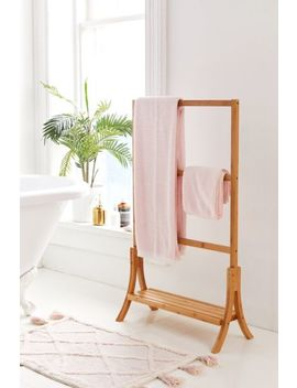 Bamboo Towel Rack by Urban Outfitters