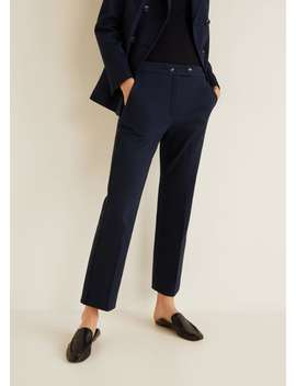 Pantalon De Costume Coton by Mango