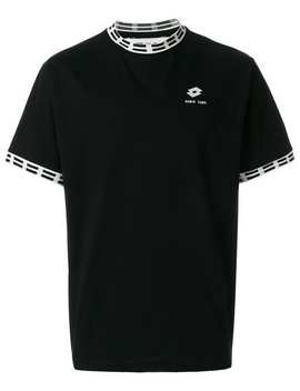 Damir Doma Damir Doma X Lotto Logo Patch T Shirthome Men Damir Doma Clothing T Shirts Damir Doma X Lotto Parise Shorts Damir Doma X Lotto Logo Patch T Shirt by Damir Doma