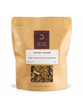 Walnut Halves Pouch, 500 G by Bulk Powders