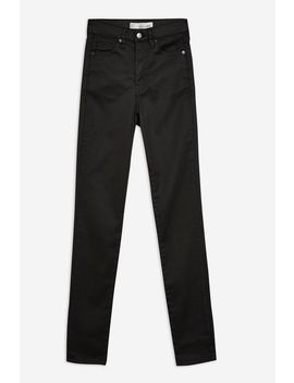 Black Coated Jamie Jeans by Topshop