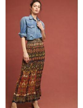 anna-sui-pleated-maxi-skirt by anna-sui