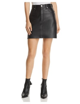 Moss Leather Mini Skirt by Rag & Bone/Jean