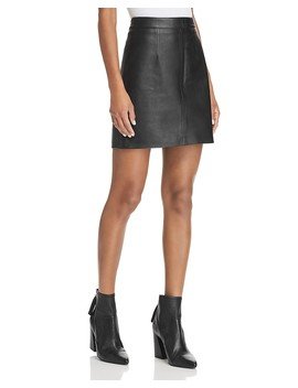Cleanline Leather Skirt by Nobody