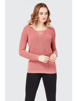 Lace Front Jumper by Select