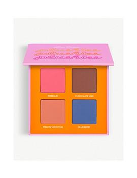 Plushies Sheer Pressed Pigment Quad Eyeshadow Palette by Lime Crime