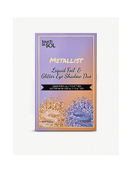 Metallist Liquid Foil & Glitter Eye Shadow Duo 2.2ml by Touch In Sol