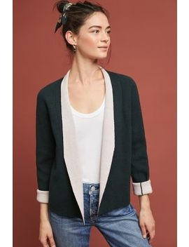 Two Toned Knit Jacket by Elk