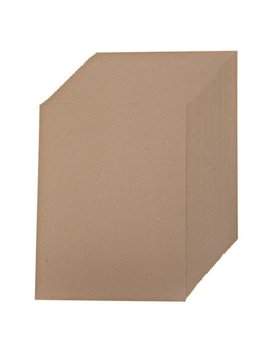 Creative World Of Crafts Kraft Card, Pack Of 50 by Creative World Of Crafts