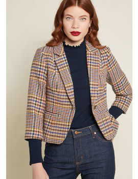 informed-ensemble-blazer by modcloth