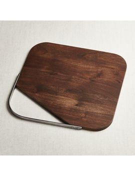 Boyd Acacia Serving Board by Crate&Barrel