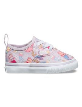Toddler Purrrmaids Authentic Elastic Lace by Vans