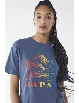 Rainbow Japan Tee by Urban Outfitters