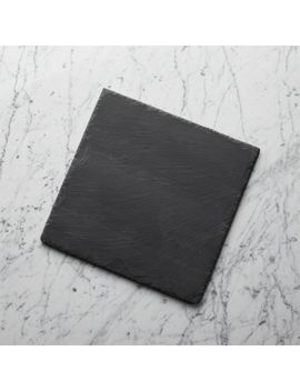 "Slate 12""X12"" Cheese Board by Crate&Barrel"