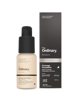 The Ordinary Coverage Foundation With Spf 15 By The Ordinary Colours 30ml (Various Shades) by The Ordinary