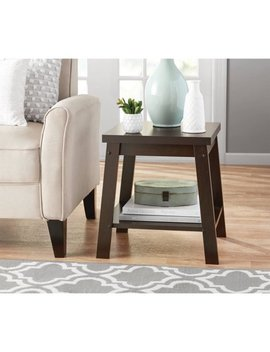 Mainstays Logan Side Table, Espresso Finish by Mainstays