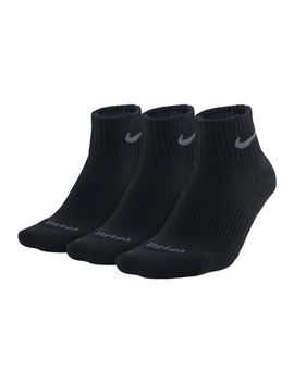 Nike® 3 Pk. Mens Dri Fit Quarter Socks by Nike