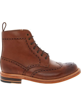 Brown Leather Boots by Chapman & Moore