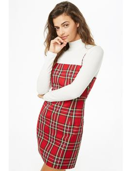 Plaid Mini Dress by Forever 21