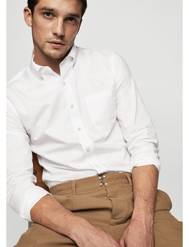 Slim Fit Oxford Shirt by Mango