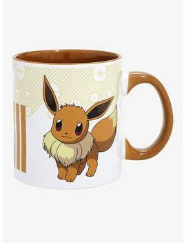 Pokemon Eevee Evolutions Pokedex Mug by Hot Topic