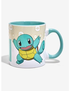 Pokemon Squirtle Pokedex Mug by Hot Topic