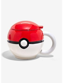 Pokemon Poke Ball Mug by Hot Topic