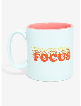 Focus Ceramic Mug by Hot Topic