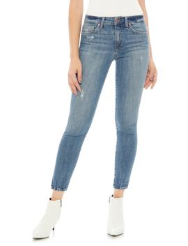 Icon Split Hem Crop Skinny Jeans by Joe's