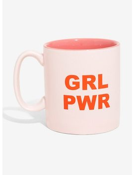 Grl Pwr Ceramic Mug by Hot Topic