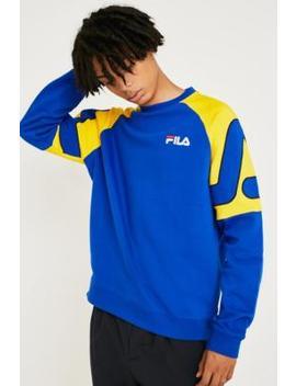 Fila Aria Blue Raglan Sweatshirt by Fila