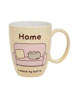 Pusheen Home Is Where My Butt Is Mug by Hot Topic