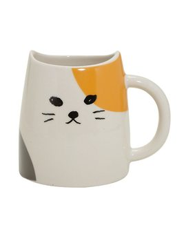Calico Cat Ceramic Mug by Hot Topic