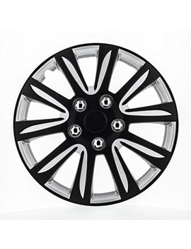 Pilot Wh546 15 B Bs Universal Fit Premier Toyota Camry Style Black 15 Inch Wheel Covers   Set Of 4 by Pilot Automotive