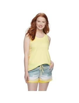 womens-sonoma-goods-for-life-printed-tank-&-shorts-pajama-set by kohls