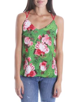 Kut From The Kloth Dana Print Camisole Top by Swat Fame