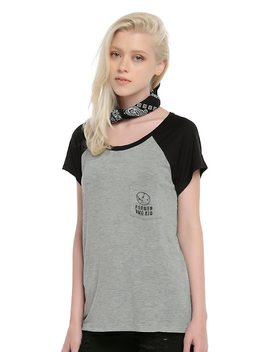 Former Emo Kid Girls Short Sleeved Raglan by Hot Topic