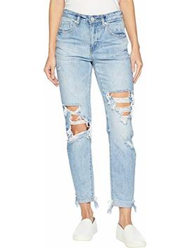 [Blanknyc] Blank Nyc Womens The Rivington Hi Rise Tapered Leg Denim Jeans In Jackpot by 5 Bblanknyc5 D