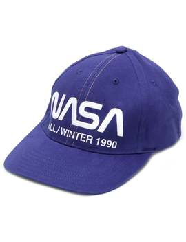 Nasa Print Cap by Heron Preston