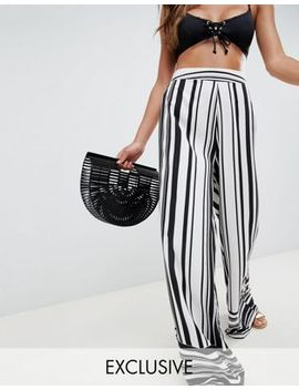 Akasa Multi Stripe Beach Trousers by Akasa